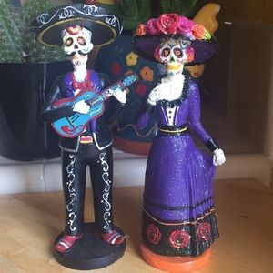 NWOT- 🌹Day of The Dead Couple Set 🌹